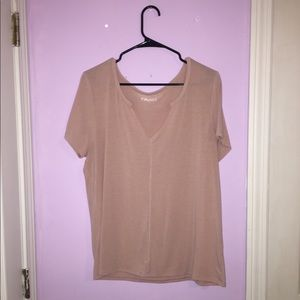 light pink t-shirt!
